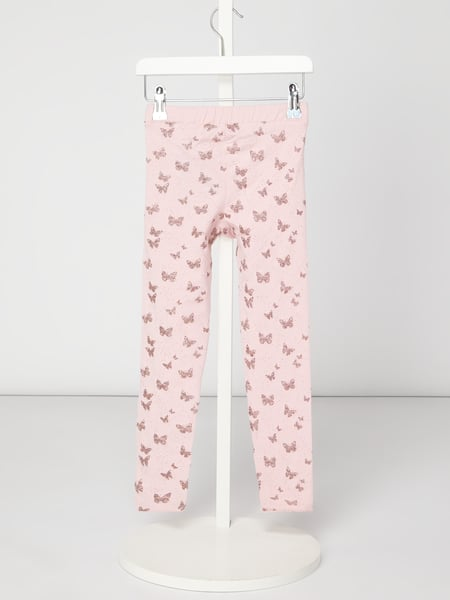 Review for Kids Leggings mit Schmetterlingsmuster Rosa - 1
