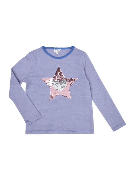 Review for Kids Longsleeve mit Stern aus Wende-Pailletten Rosé - 1