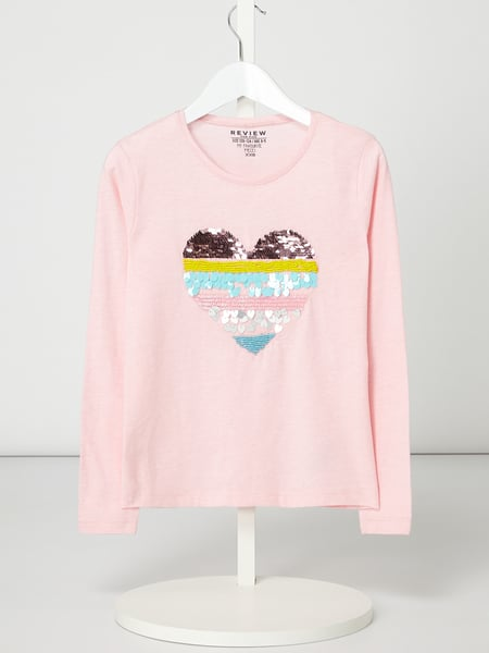 Review for Kids Longsleeve mit Wendepailletten Rosa - 1