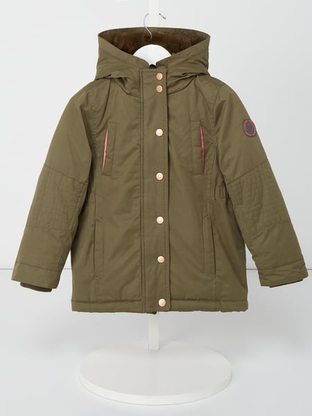 Review for Kids Parka mit Webpelzfutter Grün - 1