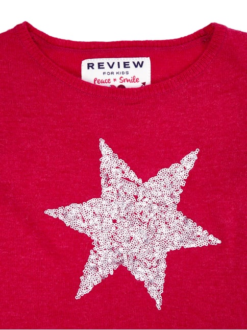 Pullover mit Stern aus Pailletten Review for Kids online kaufen - 1