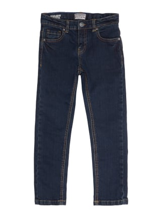 Rinsed Washed Regular Fit Jeans Blau / Türkis - 1