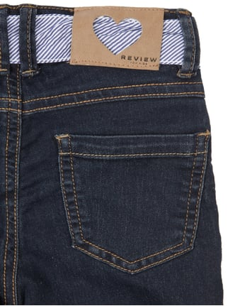 Rinsed Washed Slim Fit Caprijeans Review for Kids online kaufen - 1