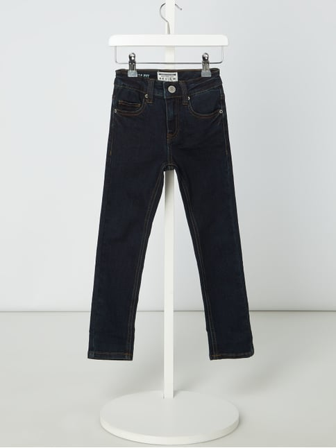 5c9a9038fcea33 Review for Kids Rinsed Washed Slim Fit Jeans Blau   Türkis - 1 ...