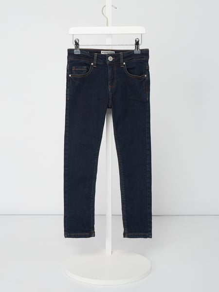 Review for Kids Rinsed Washed Slim Fit Jeans - gefüttert Blau / Türkis - 1