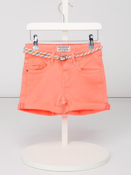 Review for Kids Shorts mit Gürtel Rosa - 1