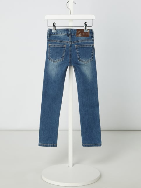 ... Review for Kids Stone Washed Slim Fit Jeans Blau - 1 bf245bb818
