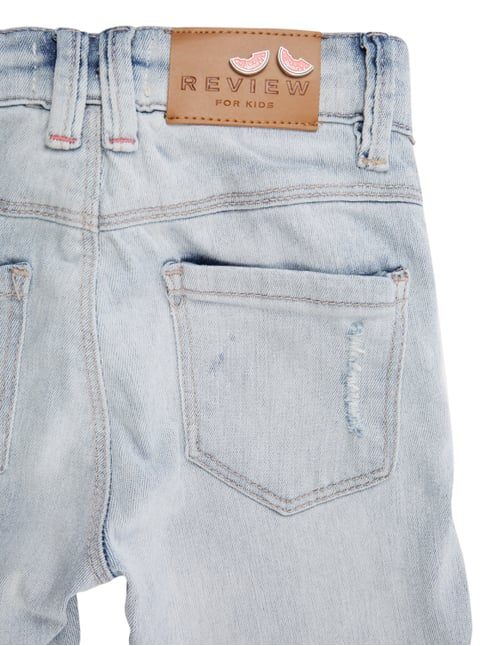 Slim Fit Jeans im Destroyed Look Review for Kids online kaufen - 1