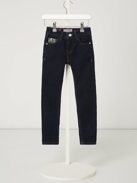 Review for Kids Slim Fit Jeans mit Pailletten-Applikationen Blau - 1