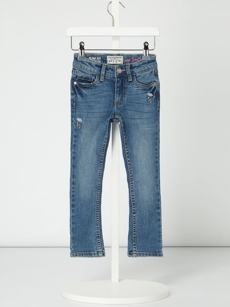 Review for Kids Slim Fit Jeans mit Stretch-Anteil Blau - 1