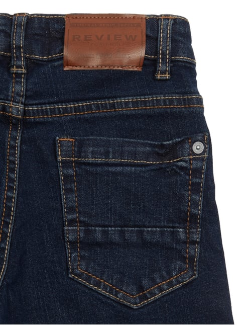 Stone Washed Slim Fit Jeans mit Stretch-Anteil Review for Kids online kaufen - 1