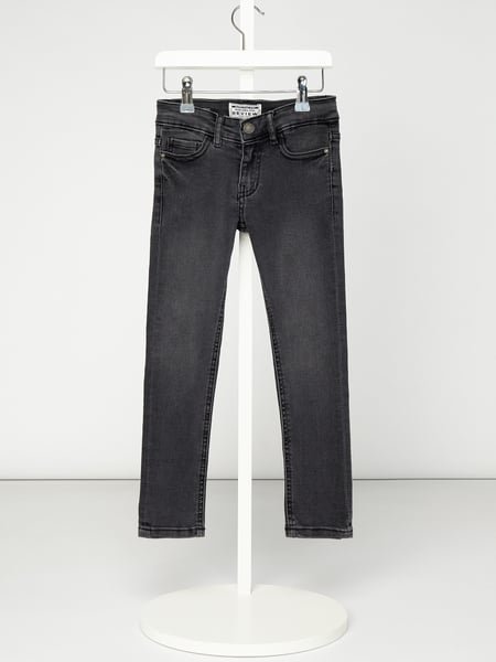 Review for Kids Slim Fit Jeans mit Stretch-Anteil Grau - 1