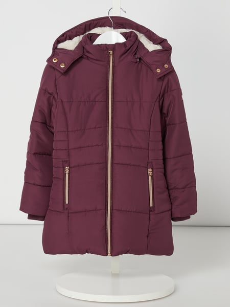 Review for Kids Steppjacke mit abnehmbarer Kapuze Lila - 1