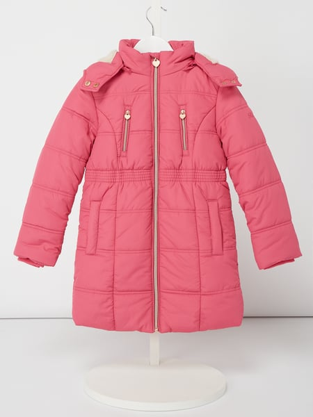 Review for Kids Steppjacke mit Teddyfutter - wattiert Rosé - 1