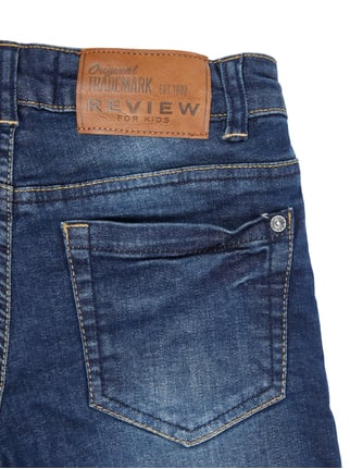 Stone Washed Regular Fit Jeans mit Futter Review for Kids online kaufen - 1
