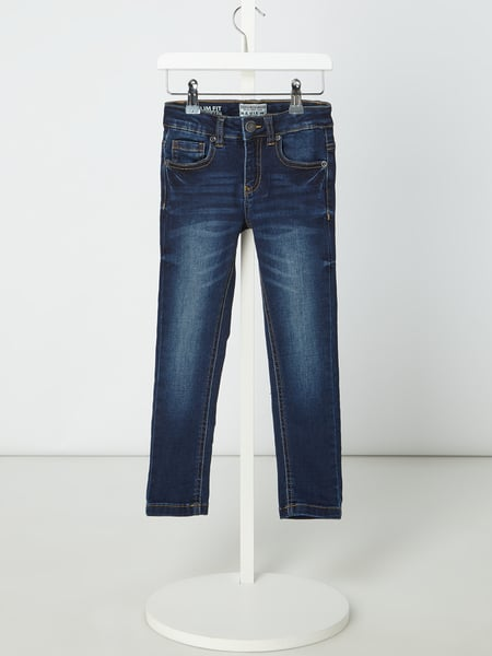 Review for Kids Stone Washed Slim Fit Jeans Blau - 1