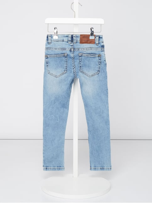 3daabf779bdd ... Review for Kids Stone Washed Slim Fit Jeans Eisblau - 1
