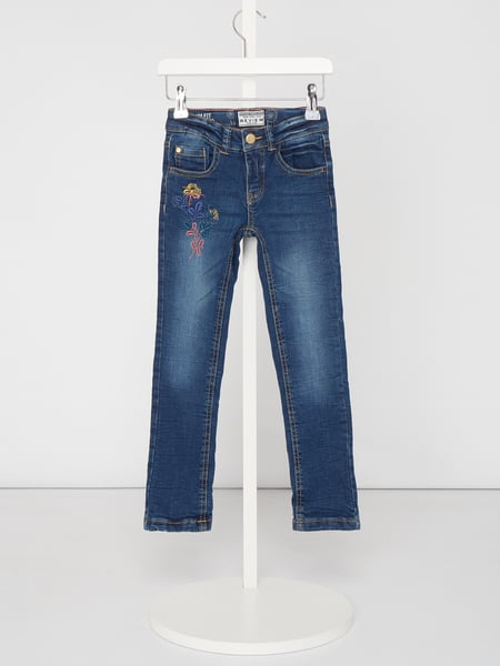 Review for Kids Stone Washed Slim Fit Jeans - gefüttert Blau / Türkis - 1