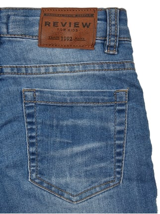 Stone Washed Slim Fit Jeans Review for Kids online kaufen - 1