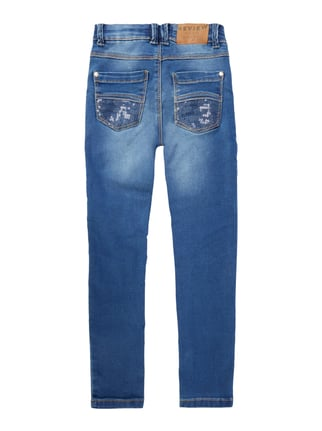Review for Kids Stone Washed Slim Fit Jeans Jeans - 1
