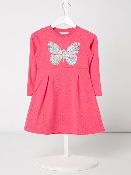 Review for Kids Sweatkleid mit Wendepailletten Rosa - 1