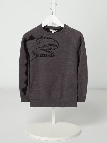 Review for Kids Sweatshirt mit Dino-Applikation Grau - 1