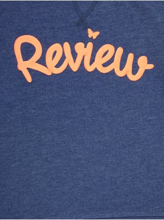 Sweatshirt mit gummiertem Logo-Print Review for Kids online kaufen - 1