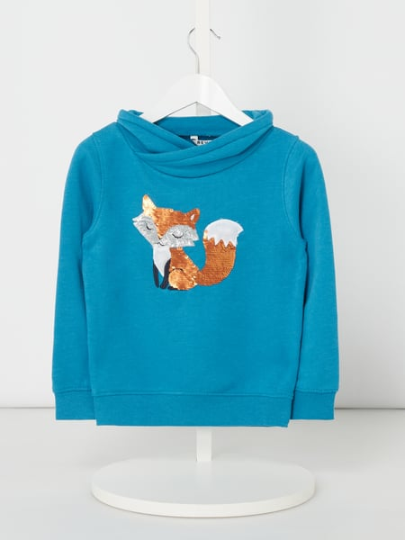 Review for Kids Sweatshirt mit Pailletten-Motiv Türkis - 1
