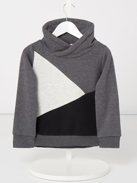 Review for Kids Sweatshirt mit Tube Collar Grau - 1