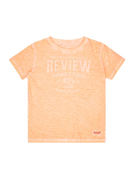 Review for Kids T-Shirt im Washed Out Look Orange - 1