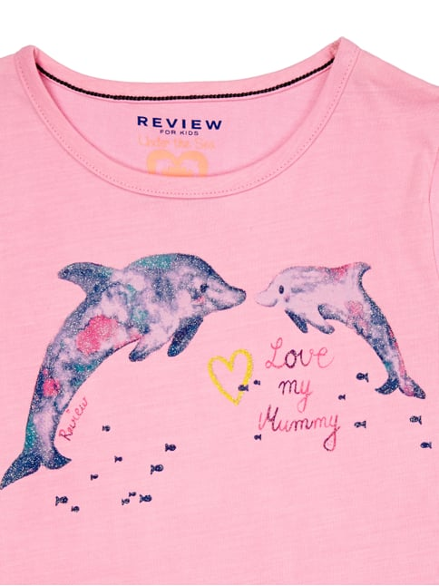 T-Shirt mit Delfin-Print Review for Kids online kaufen - 1