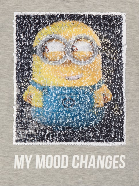 T-Shirt mit Minions™-Motiv aus Wende-Pailletten Review for Kids online kaufen - 1