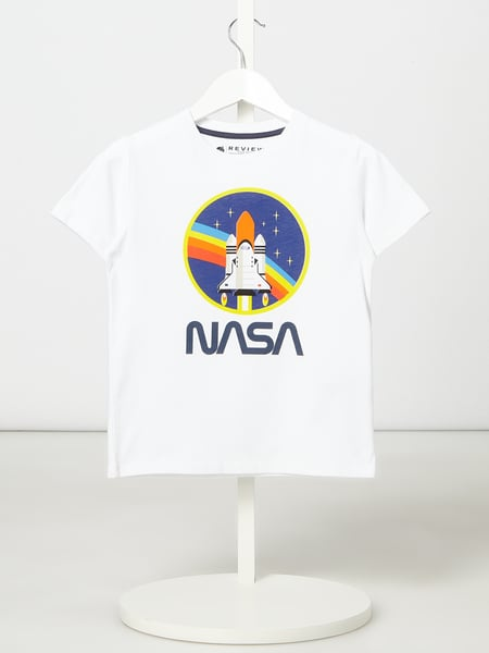 Review for Kids T-Shirt mit NASA-Print Weiß - 1