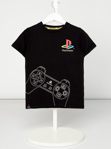 Review for Kids T-Shirt mit PlayStation™-Prints Schwarz - 1
