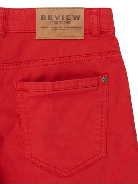 Bermudas im 5-Pocket-Design Review for Teens online kaufen - 1