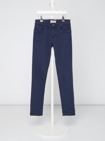 Review for Teens Coloured Slim Fit Jeans mit Weitenregulierung Blau / Türkis - 1