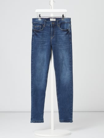 Review for Teens Gefütterte Slim Fit Jeans mit Label-Patch Blau - 1