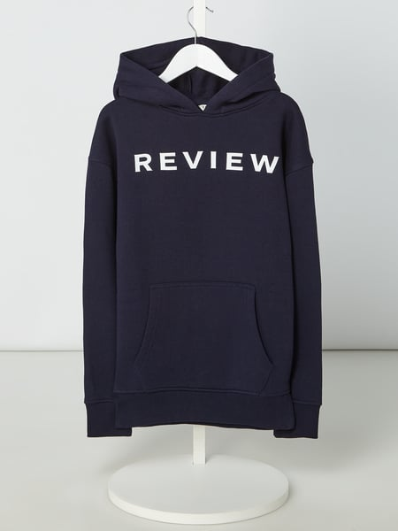 Review for Teens Hoodie mit Logo-Print Blau / Türkis - 1