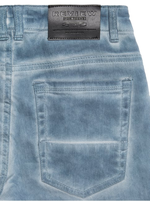 Jeansshorts im Washed Out Look Review for Teens online kaufen - 1