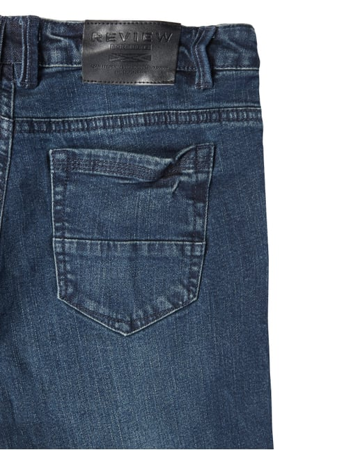 Light Stone Washed Regular Fit 5-Pocket-Jeans Review for Teens online kaufen - 1