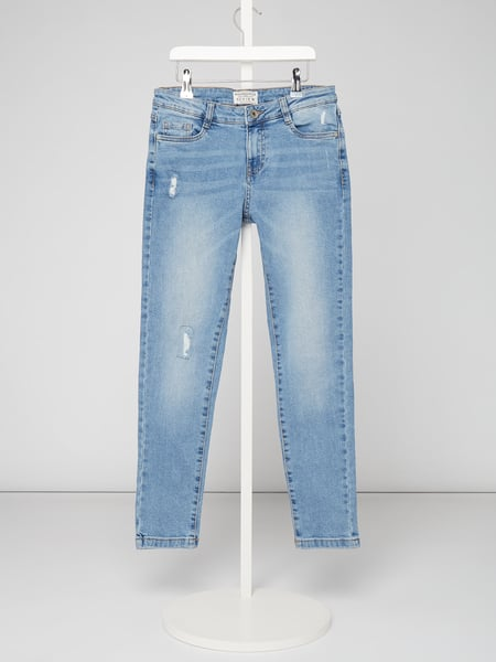 Review for Teens Loose Fit Jeans im Used Look Blau - 1