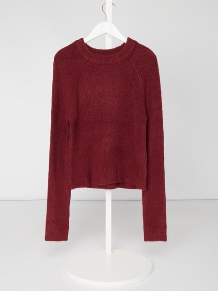 Review for Teens Pullover mit Raglanärmeln Rot - 1