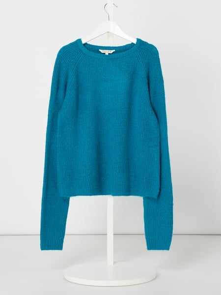 Review for Teens Pullover mit Rippenstruktur Blau - 1