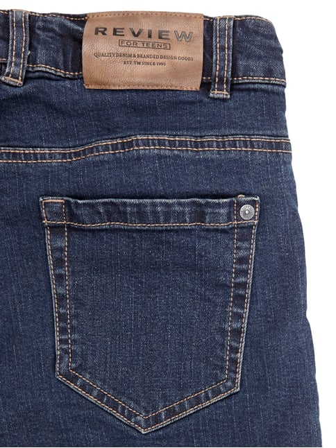 Rinsed Washed Regular Fit Jeans Review for Teens online kaufen - 1