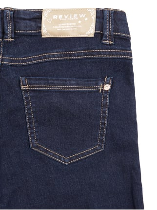 Rinsed Washed Slim Fit 5-Pocket-Jeans Review for Teens online kaufen - 1