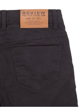 Slim Fit 5-Pocket-Hose mit Jerseyfutter Review for Teens online kaufen - 1