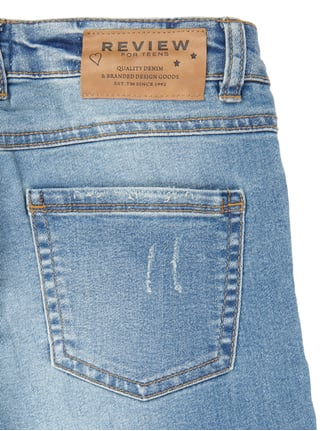 Slim Fit 5-Pocket-Jeans mit Pailletten-Besatz Review for Teens online kaufen - 1