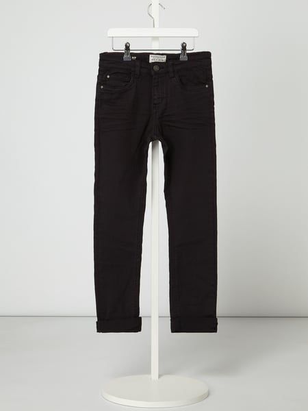 Review for Teens Slim fit jeans met stretch Zwart - 1