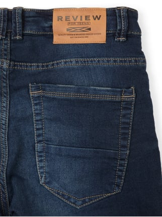 Stone Washed Jeansbermudas Review for Teens online kaufen - 1
