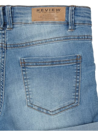 Stone Washed Jeansshorts Review for Teens online kaufen - 1